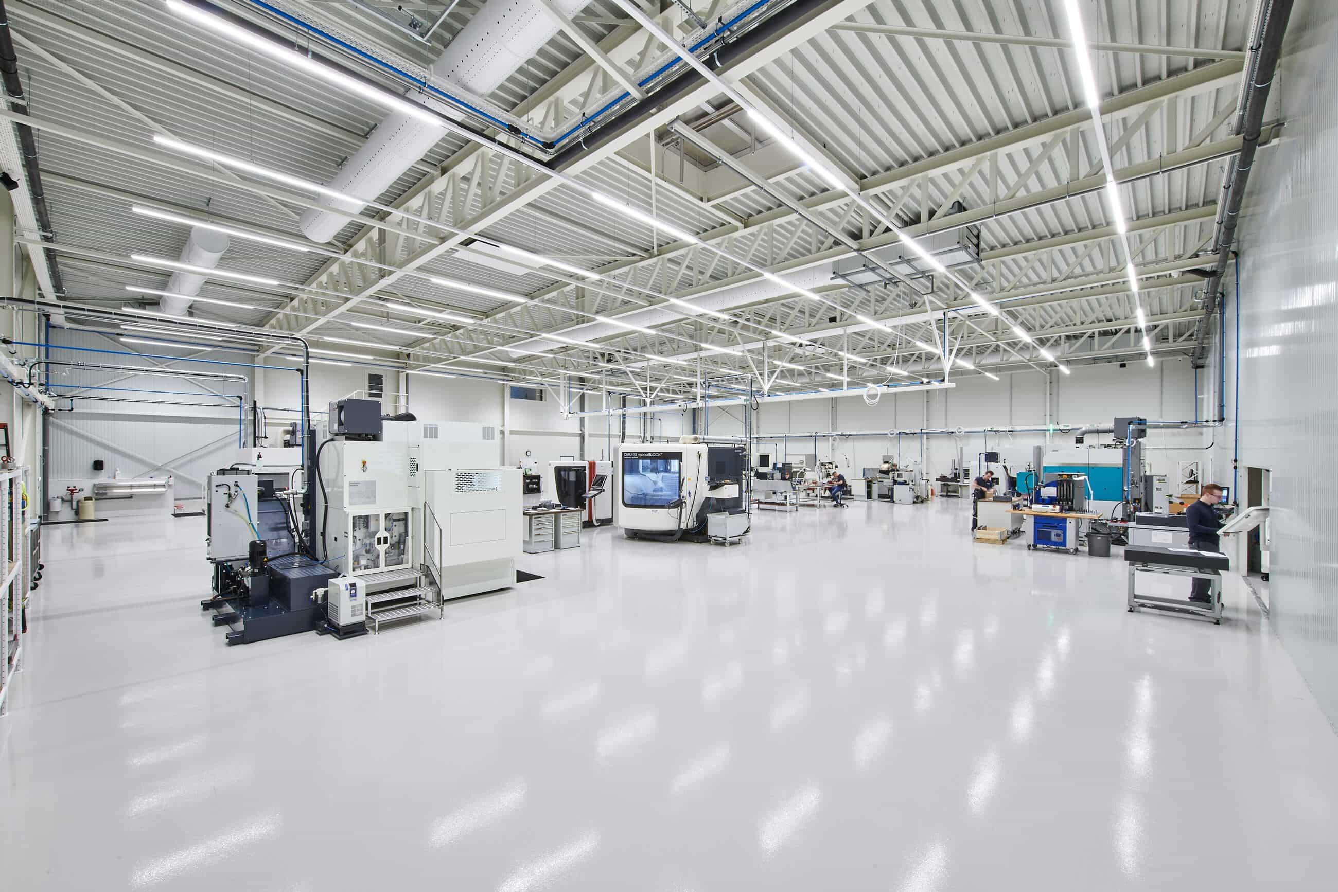 E.S. Tooling productiehal